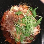 麻SHIBIRE - 汁なし担々麺。
