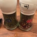 麻SHIBIRE - 山椒、二種。
