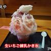 さかえや - 料理写真:三ツ星製氷の天然氷。 ちおとめ・スカイベリー・紅ほっぺを使用。