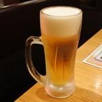 鳥ぼんぼん - 生ビール