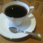 Patisserie Lien - ケーキセットのホットコーヒー