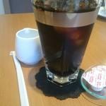 Patisserie Lien - ケーキセットのアイスコーヒー
