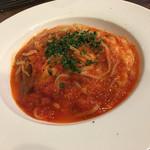 ウマイモンバール アッソ - トマトとモッアレラのパスタ