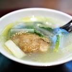 齋華 - はまぐりとうるいのスープ