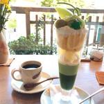 金の百合亭 - 薫風、ストロングコーヒー