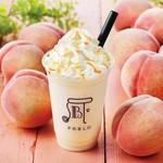 焼きたてチーズタルト専門店PABLO - 料理写真:たっぷり果実のピーチフルーテ