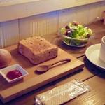 CAFE Uchi - ランチセット(トースト)