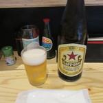 今日が丑の日 - 瓶ビール