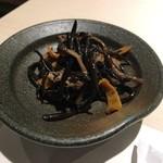 和膳と酒肴 廚 - お通し(ひじき)
