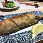 和膳と酒肴 廚 - タケノコ入り鶏つくね焼き