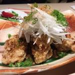 和膳と酒肴 廚 - 信玄鶏からあげ~黒酢葱ソースがけ~