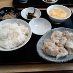 にい好!朋友 - 水餃子定食