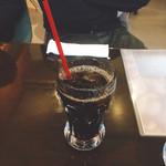 CAFA COFFEE  きの子茶屋 - 野生のコーヒー アイス(650円)【平成29年5月14日撮影】