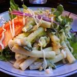 ビートバー・ベック - 物凄いボリュームのマカロニサラダ