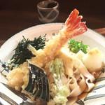 麺 銀三 - 海老おろしきしめん880円
