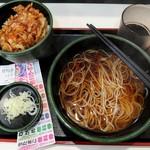 ゆで太郎 - 得ランチ水曜日(2017/05)