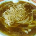 楠知 - 麺はこんな感じ