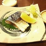 Sobamisenoami - 鯖のきずし¥700