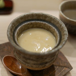日本橋蛎殻町 すぎた - このわたの茶碗蒸し