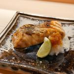 日本橋蛎殻町 すぎた - 大目鱒の焼き