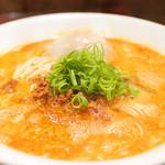 鳴龍 - 担々麺/味玉