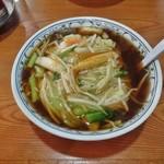 集来 - サンマー麺(手打ち)750円