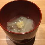 くろぎ - ずいきの吉野煮