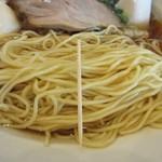 中華そば 万来之陣 - 麺の細さ