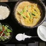 しもふらん - 豆乳チゲ鍋ランチ