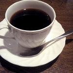 プラン - コーヒーは流石に美味しかったです