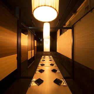 少人数~団体様まで個室でご案内◆15%オフ等お得クーポンも♪