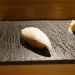 SUSHI TOKYO TEN、 - [料理] 江戸前 太刀魚 握り