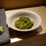 SUSHI TOKYO TEN、 - [料理] めかぶ 酢の物