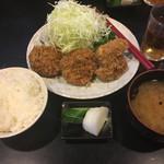 かつ壱 - ヒレカツランチ(1100円)