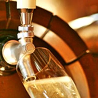 樽生ならではの美味しさ❗樽生スパークリングワイン