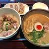 麺's たぐち - 料理写真:結構量有りましたσ(^_^;)