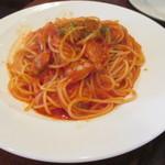 ラ・フォンターナ - アサリのトマトソース