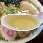 手打ちラーメン 恒 - スープ