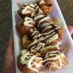 やまちゃん - たこ焼き・醤油マヨネーズ