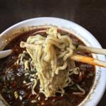 菊壱 - スープがよく絡んでます!