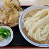 ほの香 - 料理写真:「イカ天ざる」(750円)