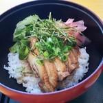お食事処 山桜 - 料理写真:大和肉鶏照焼丼