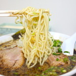 なんつッ亭 - ラーメン 麺
