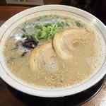 ドン.チードル - 料理写真:淡麗とんこつ(醤油)