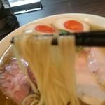 らぁ麺 紫陽花 - 鶏油煮干しらぁ麺