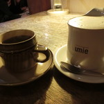 umie - 珈琲とカフェラテ