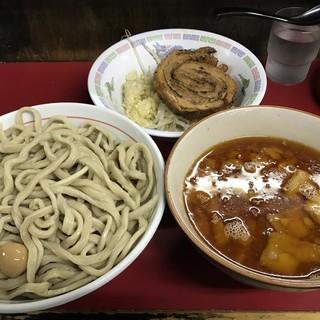 蓮爾 - 料理写真:【2017.5.12】小つけ麺¥850+巻きチャア¥200