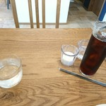ジレカフェ - 最後に出てきたお水