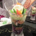 レストラン 間 - 「季節の野菜パフェ」