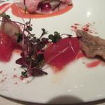 レストラン 間 - 柳タコとトマト